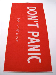 DON'T PANIC Towel