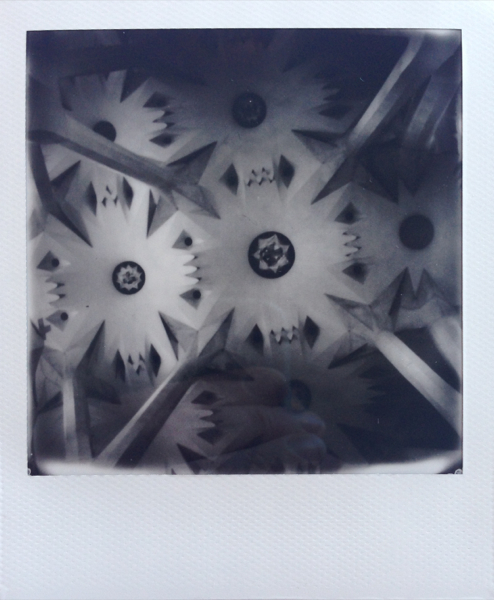 Polaroid - Sagrada Familia