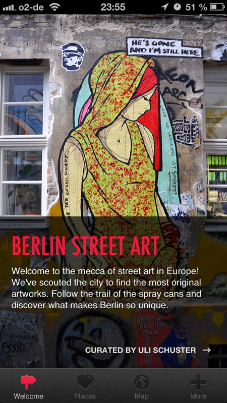 Cover - Street Art Berlin App