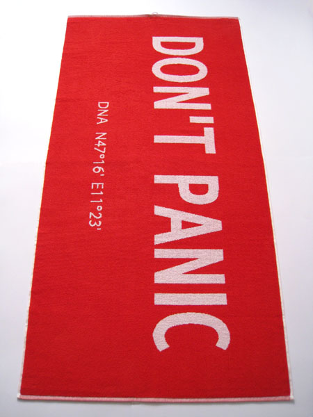 Towel Day - Don't Panic