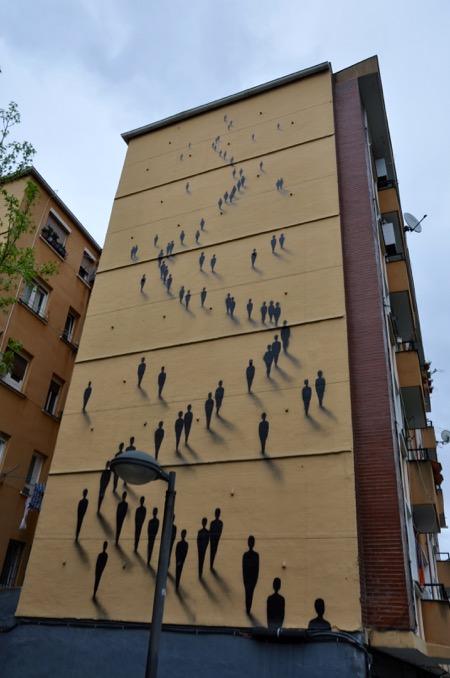 Mural of SUSO33 in Bilbao