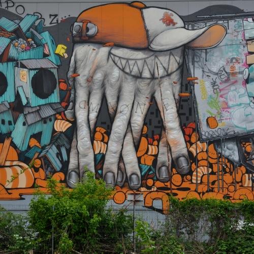 Street Art by Da Mental Vaporz