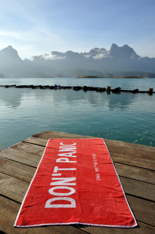 Towel Day 2020, Khao Sok Nationalpark, Thailand